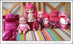 Pink Family Portrait 1