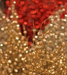 Bokeh!! I'm going crazy!!! :-) (Joosje®) Tags: christmas decorations red stilllife silver 50mm gold bokeh 14 decoration beyondbokeh