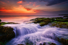 One Day in Paradise [Explored] (eggysayoga) Tags: longexposure sunset sea bali seascape motion beach water indonesia nikon lima dusk hard wave tokina 09 lee nd serene pantai graduated waterscape gnd canggu seseh 1116mm pererenan d7000