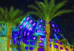 Lou Ruvo Brain Institute (picaday) Tags: abstract building night lasvegas surreal unusual braininstitute louruvo larryruvo louruvobraininstitute lasvegasbraininstitute louruvobraininstituteexterior