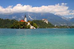 Blejski Otok (tmizo) Tags: lake europe slovenia bled slovenija otok  blejskiotok blejski jezero   blejsko blejskojezero
