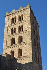 Sant Salvador de Breda (Monestirs Puntcat) Tags: selva iglesia salvador breda sant monasterio monestir esglsia