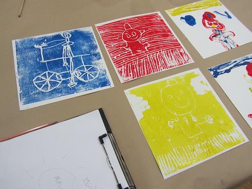 Kunstendag voor kinderen in het MAS