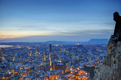 The Blue Hour (Fotomondeo) Tags: sunset espaa valencia spain cloudy alicante bluehour horaazul