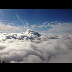 Landing in #Cincinnati #cloudporn #nofilter