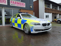 VX12FFA (Emergency_Vehicles) Tags: show park west car traffic police f10 bmw service emergency 2012 equipped the ffa mercia stoneleigh 530d cmpg apnr vx12 vx12ffa