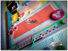 Livro do Bebê Sweet Dreams (Le Scraft) Tags: flores verde rio riodejaneiro scrapbook scrapbooking rj rosa amarelo bebê menina scrap pássaros niteroi niterói nascimento maternidade anotações livrodobebe álbumdobebê livrodobebê