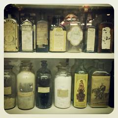 Antique Medicine Bottlles (Joe Shlabotnik) Tags: cameraphone bottles antique medicine staugustine 2012 faved droid2 november2012 instagram uploaded:by=instagram foursquare:venue=4bae762bf964a5204db53be3