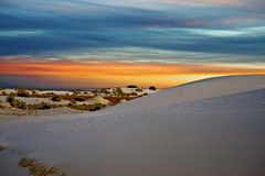 white Sands dawn (r.moreira32) Tags: blue orange newmexico yellow sunrise landscape dawn sand nikon whitesands ngc nationalmonument 24120mm droh d700 dailyrayofhope2012