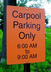 Exterior Parking Sign