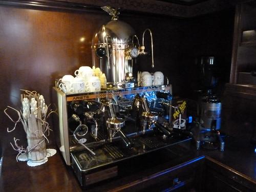 AL Andalus - luxury train in Spain, great coffee!