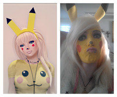 Pika Pika! (A Perfect Tragedy) Tags: anime cosplay kawaii pikachu pokemon digitalgirl pikachugirl