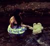 (Chloe Maria.) Tags: white water leaves teddy surreal fantasy wa brookeshaden