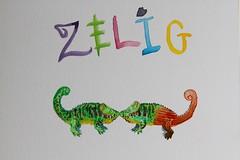 Capa Zelig (rejeitada) (thiagorpmendes) Tags: chameleon