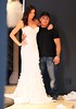 'The Bachelor' contestant Courtney Robertson is fitted into a wedding dress