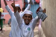 Allright ! (Photosightfaces) Tags: street smile kids fun happy muslim islam joy young happiness srilanka colombo srilankan allright maradana