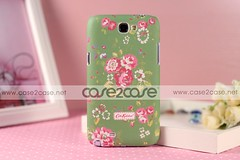 Cath Kidston case for Samsung Galaxy Note 2 II Rural Flower Green —— $29.99