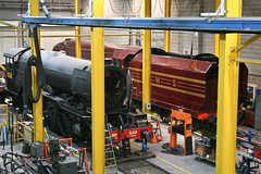 Flying Scotsman (ClydeHouse) Tags: york 1938 steam steamengine nrm nationalrailwaymuseum flyingscotsman steamlocomotive theworks 502 lner 4472 byandrew 462 6229 londonandnortheasternrailway classa3 lmscoronationclass dutchessofhamiliton ww2livery