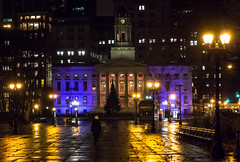 Borough Hall - Brooklyn, NY (Diacritical) Tags: nyc newyorkcity brooklyn iso3200 2012 boroughhall f40 sec dscrx100 28100mmf1849 2786mm