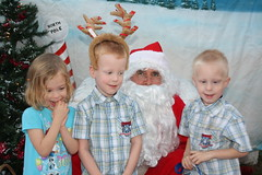IMG_2955 (drjeeeol) Tags: santa animal katie charlie will triplets toddlers 2012 refuge backtonature 50monthsold