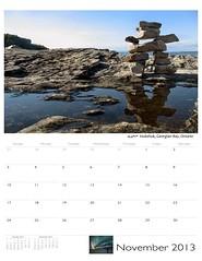 Canada calendae nov (Mr.  Mark) Tags: canada calendar 2013 markboucher