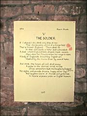 Dymock - Church of St Mary the Virgin (pefkosmad) Tags: poetry poem village display interior gloucestershire robertfrost poets verse forestofdean churchofstmarythevirgin rupertbrooke dymock thesoldier prewwi dymockpoets prefirstworldwar