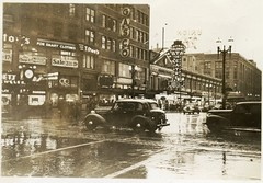 4th and Pike, Seattle, 1938 (Rob Ketcherside) Tags: seattle vintage 1930s 1938 westlake depression diamonddistrict