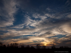 last light on a cloudy day (contemplative imaging) Tags: november autumn sunset sky fall nature clouds digital photography evening photo illinois midwest meditate geneva natural image cloudy photos sunday images il ill imaging meditation kanecounty contemplate 43 2012 e600 contemplation 3x4 midwestern westernsky contemplativeimaging 20121118 cielup20121118e600 lve1450f38