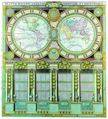 Antique Maps (divinumphoto) Tags: map antiquemapsoftheworld doublehemisphereworldmap louischarlesdesnos c1786
