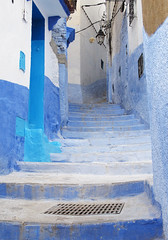 Chefchaouen, Morocco (Sallyrango) Tags: blue northafrica morocco maroc chaouen chefchaouen rif bluecity bluestblue rifmountains