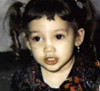 Jennifer Lopez before she became famous, aged 3 years old Pic Credit WENN