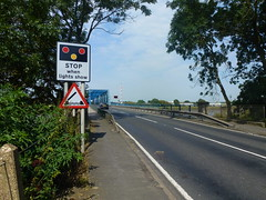 stop signs (seanofselby) Tags: bridge ferry booth goole a163