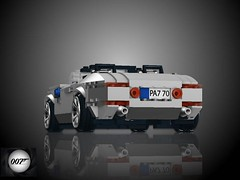 BMW Z8 Roadster - 'The World is Not Enough' (lego911) Tags: auto car james model lego render convertible 1999 bmw bond challenge v8 cad lugnuts roadster moc z8 61st ldd miniland fisker theworldisnotenough thegreatchase lego911