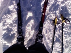 Cross-Country Skiing in Aspen, Colorado December 9, 2012