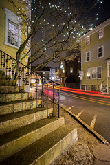 Marblehead (Dan Squires) Tags: longexposure night ma marblehead vc15mm npy fujixpro1