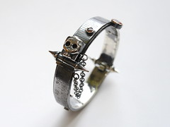 Steel Rule Bangle - 7