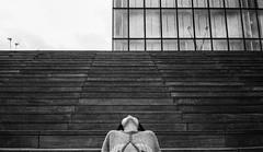 # (MyNameIsNotBukowski) Tags: street portrait black paris lana monochrome mood chinese olympus bnf analogue mjuii argentique olympusmjuii kodaktmaxp3200