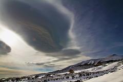 Ineluttabile (Massimo1989) Tags: nuvole etna sicilia vulcano montenero lenticolari
