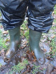 DSC04750 (Rubber boots and mud) Tags: mud wellies rubberboots raingear