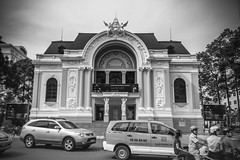 Saigon Opera House (julesnene) Tags: travel blackandwhite bw building architecture fun blackwhite theater monotone adventure operahouse saigon hochiminhcity touristattraction famouslandmark saigonoperahouse frenchcolonialarchitecture famousattractions formerlysaigon artsandculture hochiminhmunicipaltheater julesnene juliasumangil operahouseinhochiminh oldnamesaigon