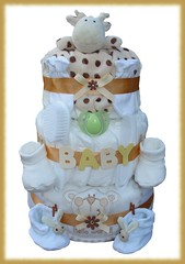 Nappy Cake (2) (Labours Of Love Baby Gifts) Tags: babygift nappycake nappycakes newbabygifts laboursoflovebabygifts