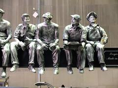 (symsym001) Tags: street 2001 nyc sculpture ny memorial december fuji manhattan dec captain fujifilm morgan capt captainmorgan 2012 dec12 december12 iorn fujifilmx10 fujix10