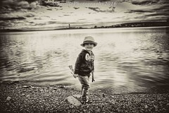 AAB_1717bw (savillent) Tags: tuktoyaktuk northwest territories canada travel people places earth waterscape hat black white bw north explore arctic summer smile saville nikon july 2016