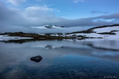 Smrstabbrean Glacier (MC-80) Tags: smrstabbrean glacier jotunheimen norway sognefjellet sognefjellsveien sogn og fjordane luster bverdalen norwegen sunset light sonnenuntergang bverbrean tussevatnet