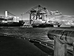 Port of Helsinki | Vuosaari Harbour (Toni Kaarttinen) Tags: portofhelsinki vuosaari vuosaarensatama harbor harbour instagram instawalk finlndia finnland finnlando finlandia finlande finnorszg  finlndia finlanda  suomi finland scandinavia industrial architecture ship sea