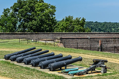 Fort-Washington-74 (vaabus) Tags: fortwashington fortwashingtonmaryland fortwashingtonpark bastion casemate cannon 24poundercannon caponniere civilwardefensesofwashington fortification