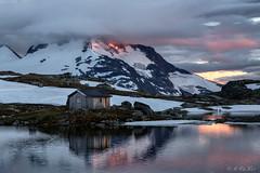Fannarki mountain (MC-80) Tags: fannarki fantesteinsvatnet jotunheimen norway sognefjellet sognefjellsveien sognogfjordane luster bverdalen norwegen sunset sunsetlight