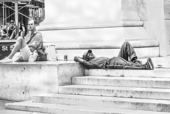 Break Time (C@mera M@n) Tags: blackandwhite manhattan newyorkcityphotography street streelife city outdoor ny candidstreet wallstreet newyorkphotography urban people candid monochrome nyc newyorkcity streetphotography streetscene financialdistrict candidpeople newyork places urbanlife unitedstates us