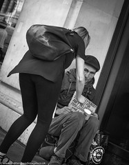 donations (Wayne Stiller) Tags: begging donate homeless london oxfordcircus street