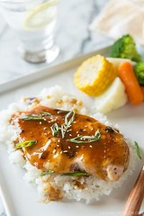 Grilled Chicken with (alaridesign) Tags: grilled chicken with teriyaki sauce 100 gift card giveaway